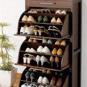 Curve Shoerack 3 Shelf