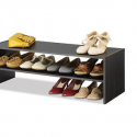 Whitmor Stackable 2-Tier Shoe Shelf